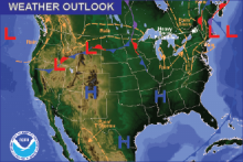 Weather Outlook - October 22, 2016