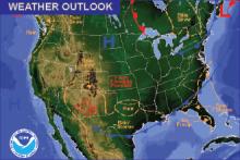Weather Outlook - November 4, 2016