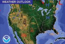 Weather Outlook - November 6, 2016