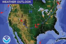 Weather Outlook - November 11, 2016