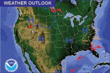 Weather Outlook - November 13, 2016