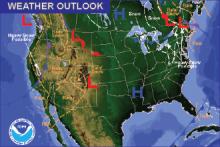 Weather Outlook - November 20, 2016