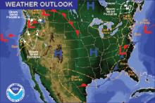 Weather Outlook - November 25, 2016
