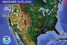 Weather Outlook - November 27, 2016