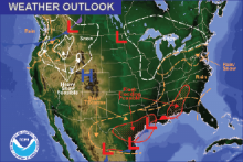 Weather Outlook - December 4, 2016