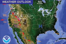 Weather Outlook - December 9, 2016