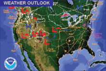 Weather Outlook - December 11, 2016
