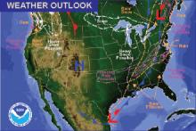 Weather Outlook - December 18, 2016
