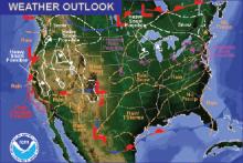 Weather Outlook - December 23, 2016