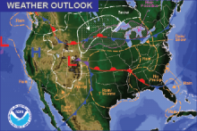 Weather Outlook - December 25, 2016