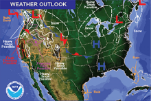 Weather Outlook - January 8, 2017