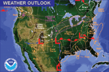 Weather Outlook - January 16, 2017