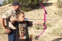 PICT Learning to Use a Bow Outdoor Adventure - CPW