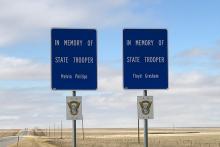 PICT Trooper Memorial Signs - Chris Sorensen
