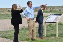 PICT Governor Hickenlooper at Sand Creek - Chris Sorensen
