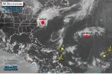 SATELLITE Atlantic storms as of September 6, 2019