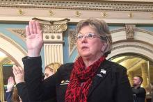 PICT Kimmi Lewis 2017 swearing in ceremony