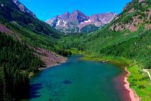 alpine lakes in colorado
