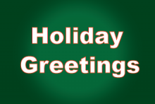 PROMO - Holiday Greetings