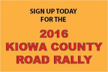 2016 Kiowa County Road Rally