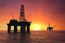 PROMO 64J1 Energy - Drilling Oil Ocean Sunset - iStock - TebNad