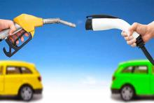 PROMO 64J1 Environment - Electric Vehicle EV Charging Gas Fuel Energy Cars - iStock - Tomwang112