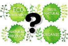 PROMO Environment - Question Mark Eco Friendly Natural Organic Words Logos - iStock - Happiestsim