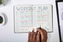 PROMO Health - Fitness Exercise Workout Plan - iStock - Andreypopov