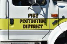 PROMO 64J1 Miscellaneous - Fire Truck Kiowa County Fire Protection District - Chris Sorensen