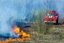 PROMO 660 x 440 Fire - Prairie Fire Truck Engine - iStock