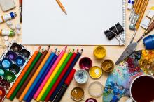 PROMO 660 x 440 Living - Art Liesure Color Pencil Paint Paper- iStock