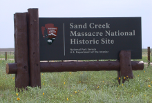 Sand Creek Massacre National Historic Site - Sign