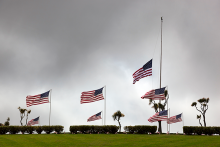 PROMO 660 x 440 Memorial - Flags at Half Staff - iStock