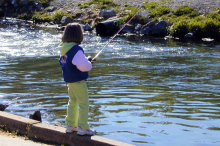 PROMO 660 x 440 Outdoors - Child Fishing Stream - Wikimedia