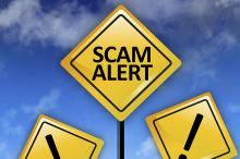 PROMO 660 x 440 Tips - Scam Alert Caution Sign - iStock