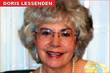 Doris Lessenden, Community Columnist