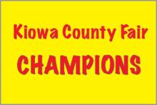 PROMO Kiowa County Fair Champions