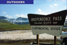 Independence Pass to Open May 26, 2016