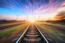 PROMO - 64J1 Transportation - Rail Line Train Track Railroad - iStock - den-belitsky