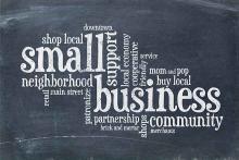 PROMO Business - Small Chamber Commerce Words Community - iStock - marekuliasz