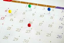 PROMO Events - Calendar Upcoming Dates - iStock - nunawoofy