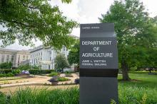 PROMO Government - USDA United States Department of Agriculture Building Washington DC - iStock - Melissa Kopka