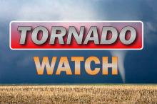 PROMO Graphic - Weather Tornado WATCH - Chris Sorensen