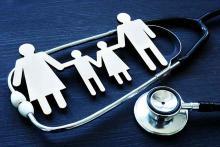PROMO Health - Family Silhouette Stethoscope - iStock - designer491