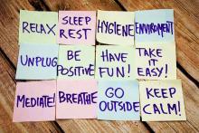 PROMO Health - Stress Wellness Notes Leisure Exercise - iStock - Artur