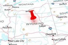 PROMO 64J1 Map - States Wyoming - iStock - klenger