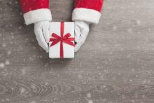 PROMO Miscellaneous - Gift Present Holiday Santa Hands Christmas - iStock - eggeeggjiew
