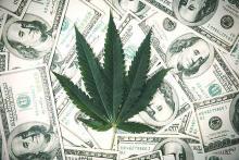 PROMO Miscellaneous - Marijuana Drugs Dollar Money - iStock - pcess609