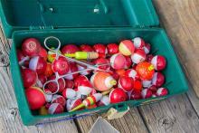 PROMO 64J1 Miscellaneous - Tackle Box Fishing Bobbers - USFWS - Kayt Jonsson - public domain