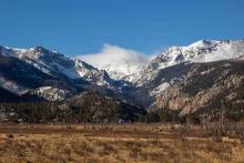 PROMO Outdoors - Mountains Trees Rocky Mountain National Park Snow - NPS